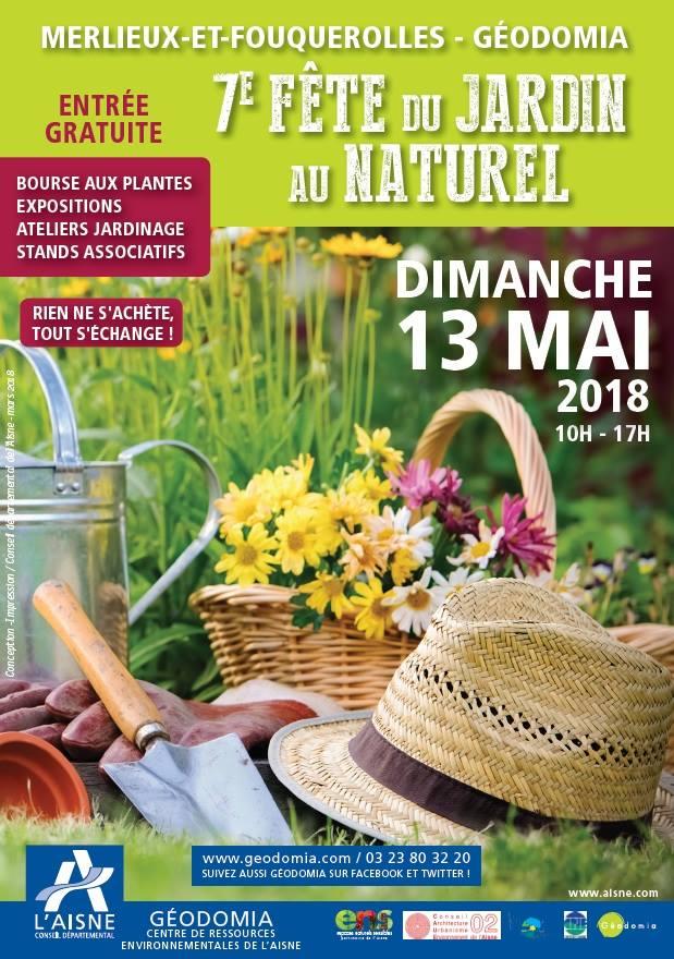 Merlieux:  7e Fête du Jardin au Naturel, 13 mai 2018